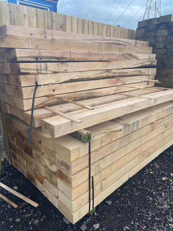 Oak Sleepers 100x200mm 2.4m