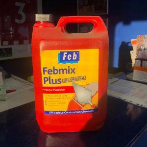 5ltr Febmix Plasticiser